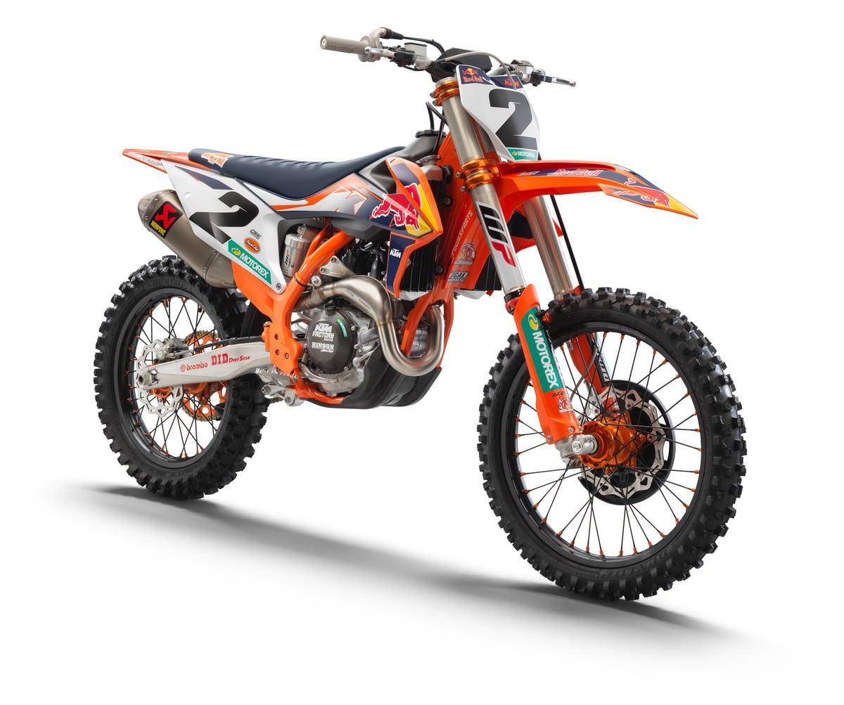 2021 Ktm 450sx F Edicao De Fabrica Anunciada Revista Dirt Bike